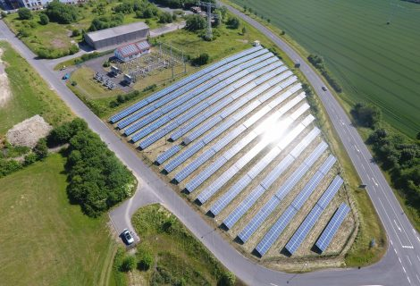 Solarpark Eisfeld, Thüringen